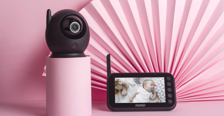 Elektroniczna niania z obrotowa kamerą Nero Neno