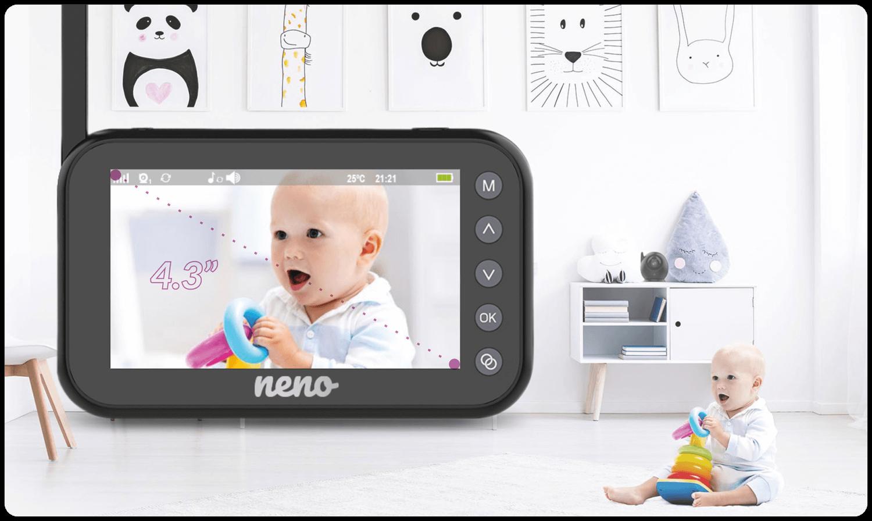 niania z duzym ekranem do monitorowania dziecka