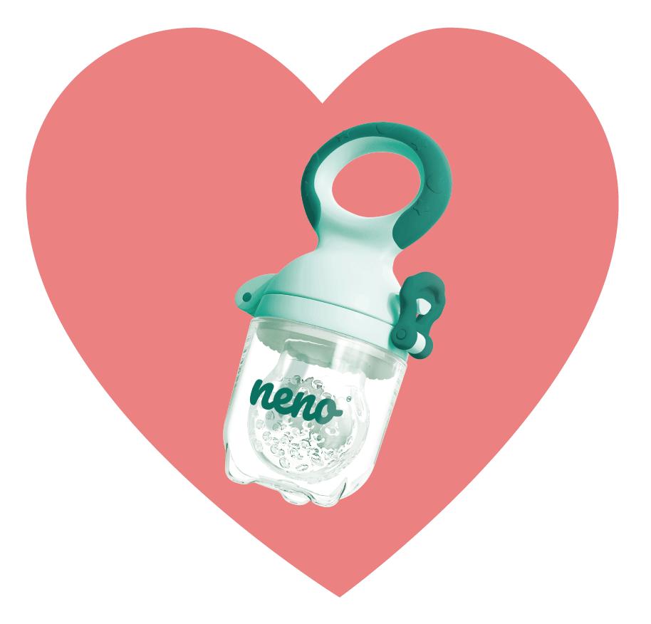 smoczek dla niemowlakfrutta- zielony